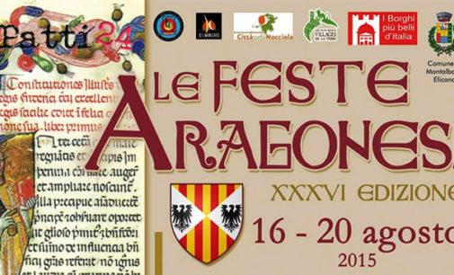 MONTALBANO ELICONA – Dal 16 al 20 agosto ritornano le Feste Aragonesi nel Borgo più bello d'Italia