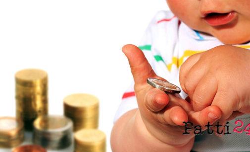 MILAZZO – Bonus Bebè di €. 1.000,00 in favore dei bambini nati o adottati, a decorrere dal 1° gennaio 2015 sino al 31 dicembre 2015