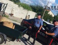 SANT'AGATA MILITELLO – Due donne e un uomo sorpresi in flagranza a rubare  giare antiche