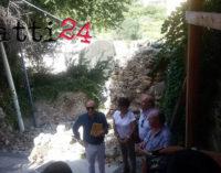 PATTI – Porta San Michele: cedimento meno grave del previsto. Adesso via ai lavori