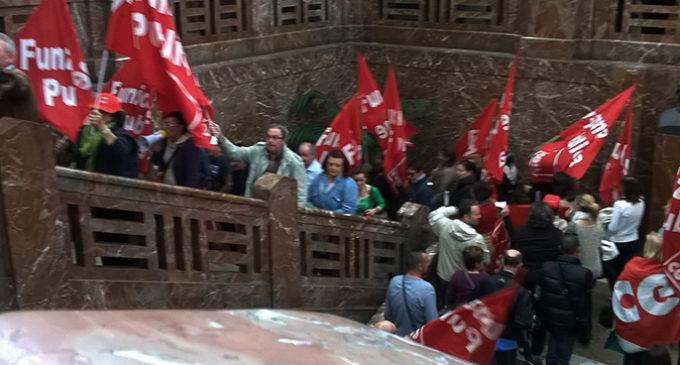 """MESSINA – I lavoratori in servizio presso i CAG di Bordonaro e Giostra gestiti dalla cooperativa """"Azione Sociale"""" rivendicano gli stipendi di Luglio"""