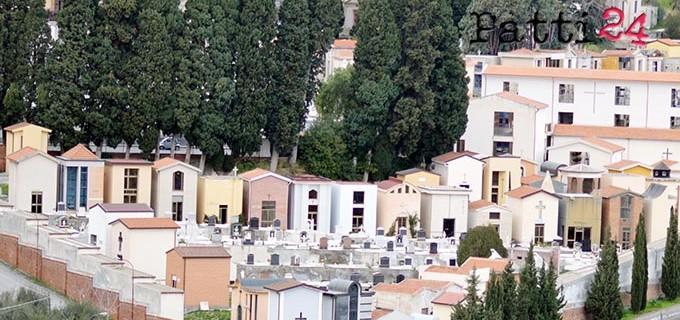 PATTI – Cimitero del Centro. Lavori urgenti di messa in sicurezza