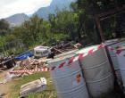 TORRENOVA – Trovati 15 metri cubi di rifiuti speciali pericolosi e non, prodotti da un cantiere nautico