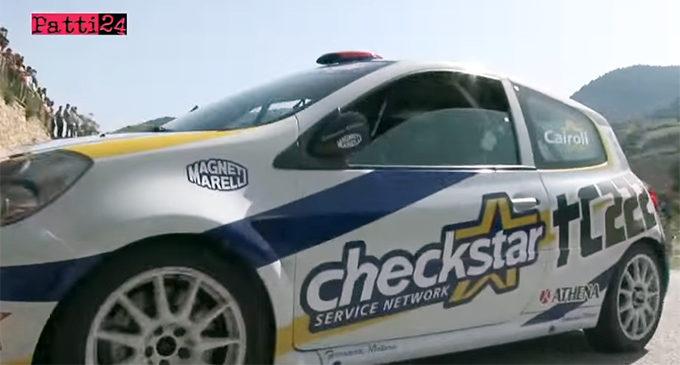PATTI24 WebTV-Rewind – 2014, Tony Cairoli alle prese con una Renault Clio Rally nelle strade della zona Porticella