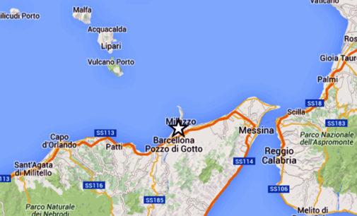 MESSINA – Sisma di magnitudo 3 stamani alle 4:25 a 1 km da Merì e 3 da Barcellona Pozzo di Gotto e San Filippo del Mela