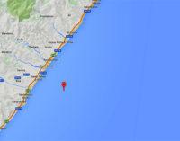 ROCCALUMERA – Lieve evento sismico registrato stamani alle 06:46 con epicentro a mare