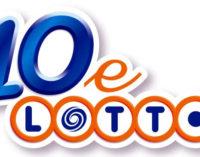 SAN FILIPPO DEL MELA – Registrata una vincita da 31.914,89 euro con 6 euro al 10eLOTTO