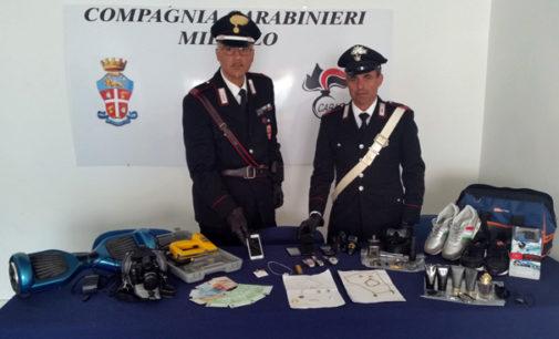 MILAZZO – Furti seriali in appartamenti, arrestati 5 albanesi