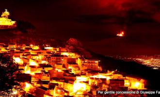 PATTI – L'attività eruttiva dell'Etna comincia a produrre effetti anche sul territorio.