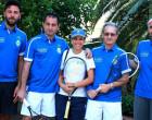 """GIOIOSA MAREA – Con un netto 4-0 il Team """"A"""" del Tennis Club Saliceto ha battuto il Play Time Barcellona"""