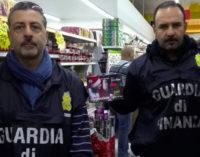 MESSINA – Sequestrati oltre 4000 articoli, tra cui luminarie e addobbi natalizi,  privi dei requisiti di sicurezza