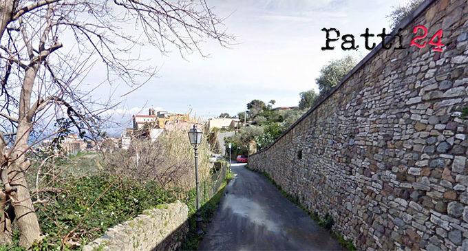 PATTI – Destinati 183.898,69 € per il rifacimento della via Sant'Antonio Abate