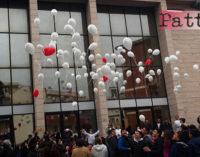"""PATTI – La Festa della Pace al """"Sacro Cuore di Gesù"""". Frasi, palloncini e un ramoscello d'ulivo"""