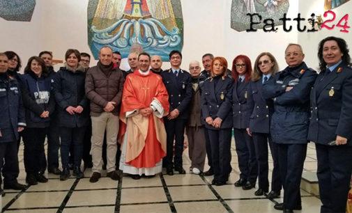 PATTI – La Polizia Municipale ha festeggiato il patrono San Sebastiano
