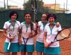 GIOIOSA MAREA – Il Tennis Club Saliceto campione provinciale in serie D femminile