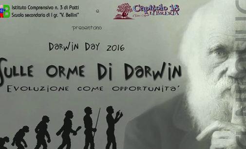 """PATTI – Sabato il """"Darwin Day"""" in onore di Charles Darwin negli spazi della libreria """"Capitolo 18"""" su iniziativa dell'I.C. """"Lombardo Radice"""""""