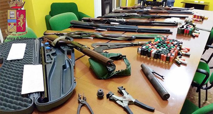 NEBRODI – Sequestrati 7 fucili per caccia di specie vietate e per attività di bracconaggio