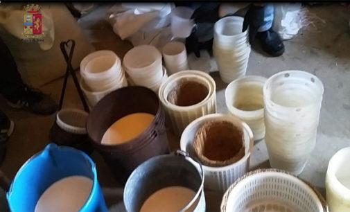 NEBRODI – La Polizia sequestra casolare adibito a caseificio in pessime condizioni igieniche, denunciato allevatore