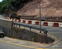 SANT'ALESSIO SICULO – Dissesto idrogeologico sulla strada statale 114 a Capo Sant'Alessio, precisazioni dei responsabili di Palazzo dei Leoni