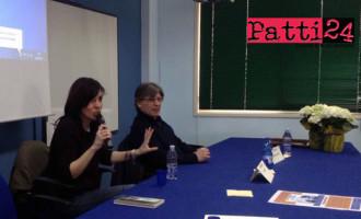 """PATTI – Nadia Terranova, autrice del libro """"Gli anni al contrario"""", ha incontrato  gli studenti del Borghese- Faranda"""