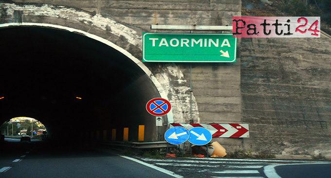 TAORMINA – Da oggi al 15 marzo  ripristino pavimentazione svincolo di Taormina e rifacimento segnaletica