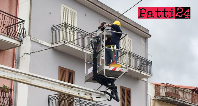 PATTI – Gestione e manutenzione ordinaria dell'impianto di pubblica illuminazione del centro e delle frazioni