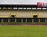 """PATTI – Lo stadio comunale """"Gepy Faranda"""" e il campo di calcio a cinque di San Giovanni a breve potranno nuovamente essere a disposizione degli sportivi pattesi"""