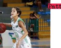 PATTI – La pattese Beatrice Stroscio convocata nella nazionale under 16 che si ritroverà a Roma dall'11 al 13 aprile