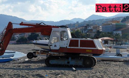 PATTI – Stagione estiva 2018 alle porte. Pulizia, sistemazione e livellamento previo sfalciamento dei litorali di Marina di Patti, Marinello e Mongiove