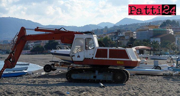 PATTI – Pulizia, sistemazione e livellamento dei litorali. Interventi su 115 mila metri quadrati circa di spiagge libere