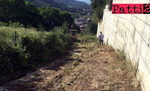 PATTI – L'idea di realizzare un sentiero dalla Concattedrale al quartiere Sant' Antonino
