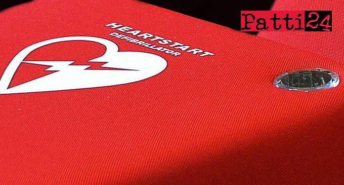 SAN PIERO PATTI – Raccolta fondi per l'acquisto di un defibrillatore a cura della Young People Power