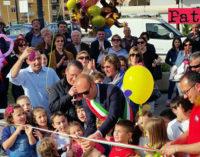 """PATTI – Inaugurato """"Il parco dei colori"""" di via Padre Pio"""