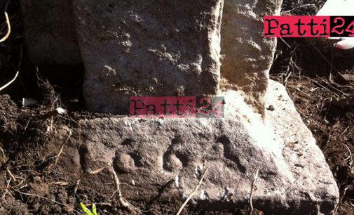 RACCUJA – Eccezionale ritrovamento di una croce in pietra che reca la data 1664 (di Elena Favazzo)