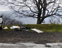 NEBRODI – Abbandonano rifiuti in una piazzuola di sosta sulla S.S. 289. Sanzionati per circa 3600 euro