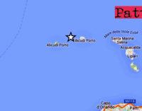 ISOLE EOLIE – Oggi pomeriggio lieve sisma di magnitudo ML 2.5 con epicentro in mare a 70 km da Lipari
