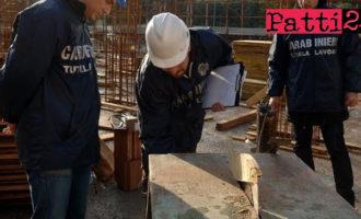 MESSINA – Controlli in provincia in edilizia, agricoltura e attività commerciali. 14 denunce, 25 lavoratori in nero e sanzioni per oltre 130mila euro.