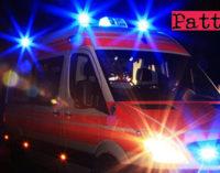 TORTORICI – Incidente mortale in paese. Auto sbanda e finisce nel greto di un torrente.