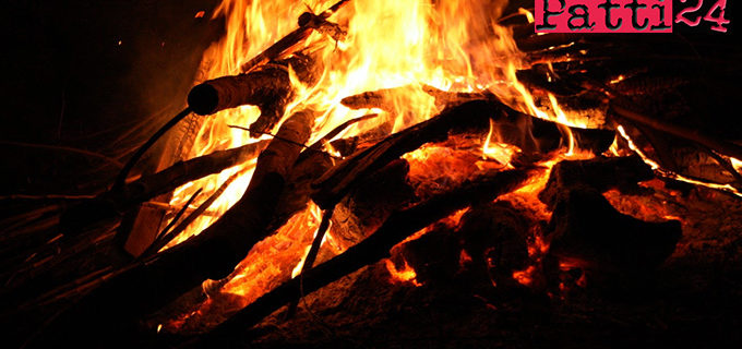 MONGIUFFI MELIA – Appicca il fuoco in un area boschiva. Denunciato 62enne.