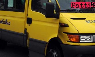 PATTI – Servizio trasporto gratuito alunni anno scolastico 2017/2018. Richiesta entro e non oltre il 30 giugno 2017