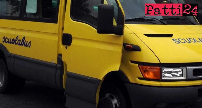 PATTI – Garantito servizio trasporto alunni.