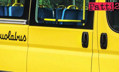CAPO D'ORLANDO –  Dalla prossima settimana il trasporto scolastico integrativo