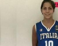 PATTI – Basket. La pattese Beatrice Stroscio tra le under 16 della Nazionale Italiana