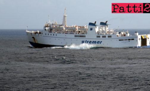"""EOLIE – Stamani causa maltempo, la nave traghetto """"Novelli"""" salta scalo di Salina"""