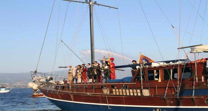 MESSINA – Rievocazione dello sbarco di Don Giovanni d'Austria a Messina. 445° anniversario