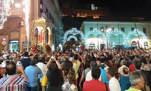 PATTI – Conclusi i festeggiamenti in onore di Santa Febronia