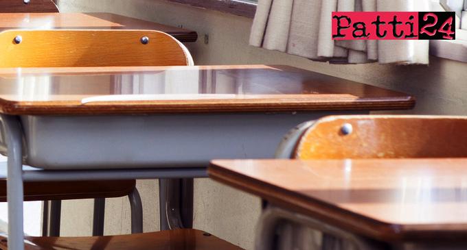 PATTI – Scuole. Fornitura parziale di arredi scolastici