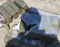 MESSINA – Rinvenuti e sequestrati 23 chili di marijuana pronta ad essere immessa sul mercato