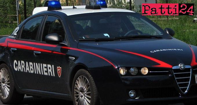 FORZA D'AGRO' – Incendio lambisce abitazione. Anziana portata via in braccio da comandate stazione Carabinieri