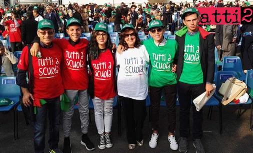 """PATTI – La """"Lombardo Radice"""" a Sondrio alla cerimonia di inaugurazione del nuovo anno scolastico"""